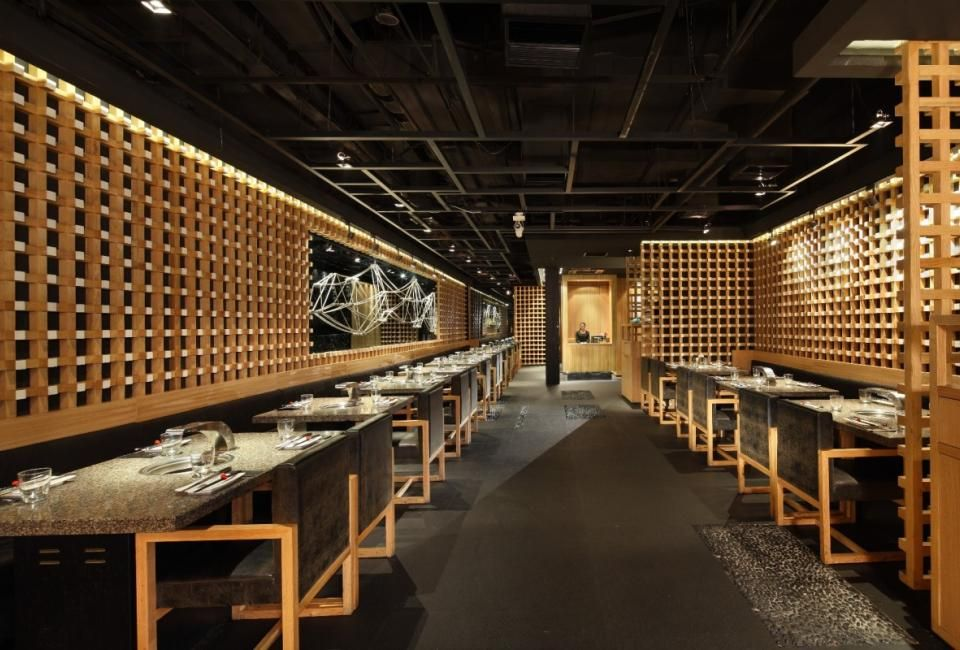 Restaurant Bar Design Interiors Ideas Japanese Interior Barbecue Tennessee Korean Public