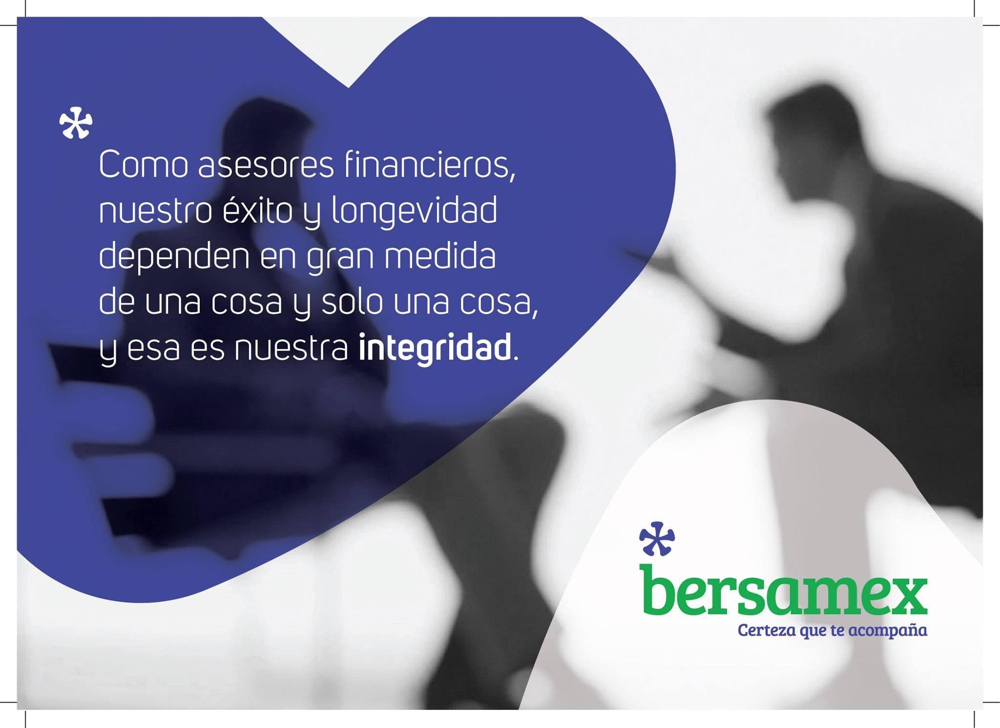 La Integridad es uno de nuestros principios fundamentales con nuestros clientes y colaboradores.