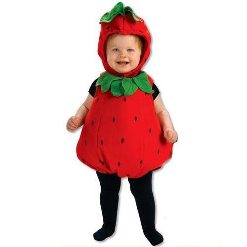 Berry Cute Strawberry Infant Costume Halloween Costume Ideas - cute childrens halloween costume ideas
