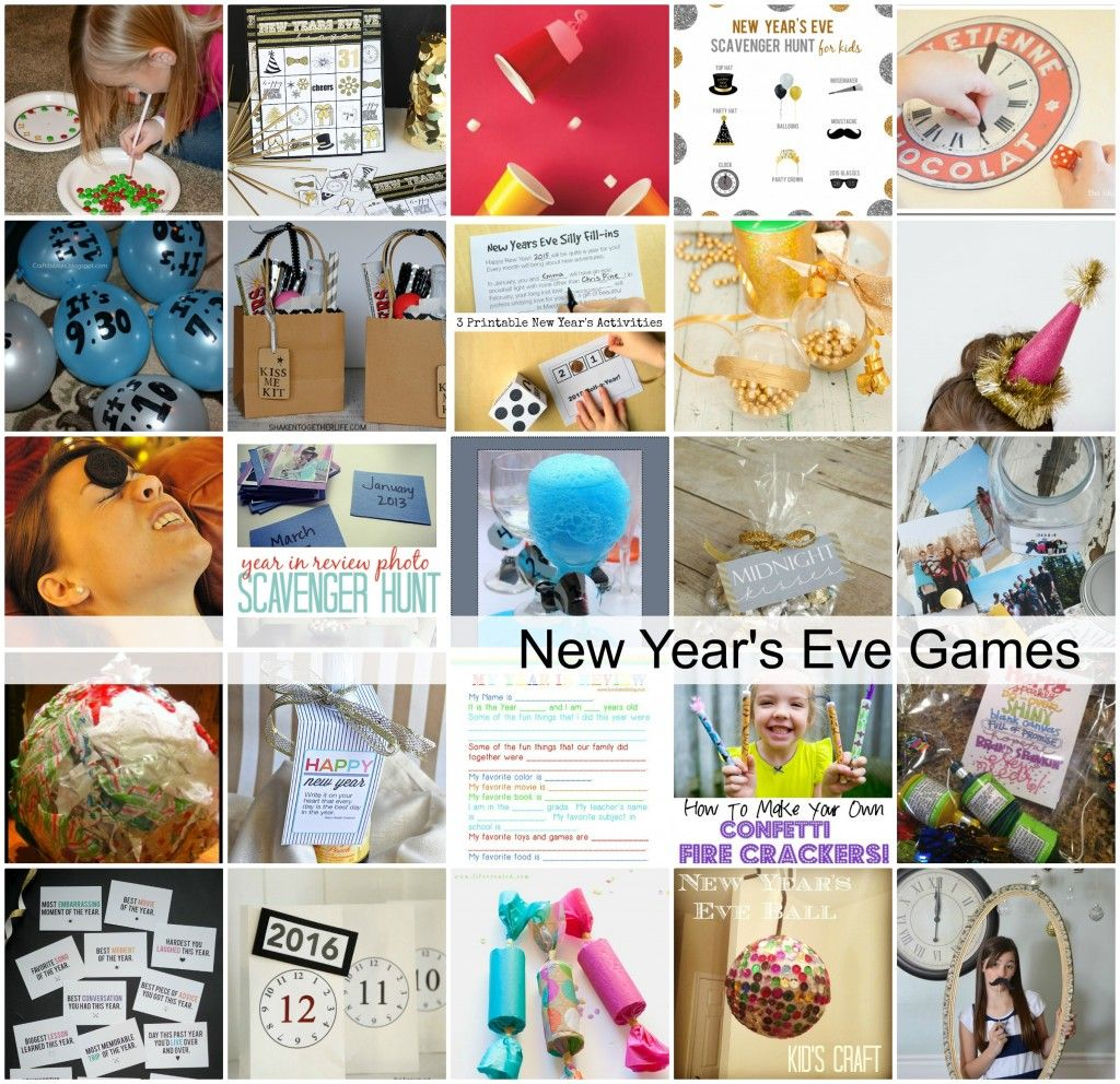 New Year's Eve Resolutions Game | New years eve games, New ...