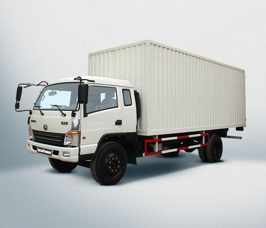 Camión en Venta: Modelo B100-CB - 10 TON   Dimensiones Tipo de ...