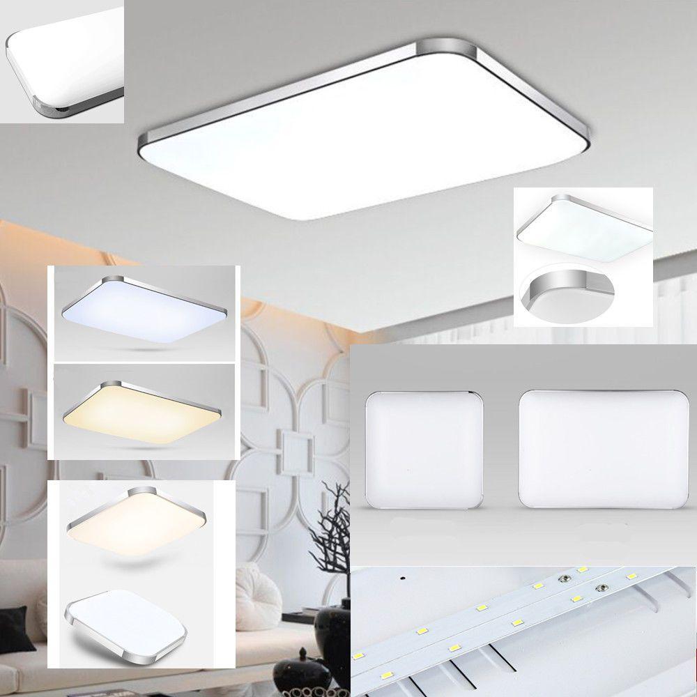 12W LED Deckenlampe Wohnzimmer Deckenleuchte Badleuchte Küchenlampe Kaltweiß