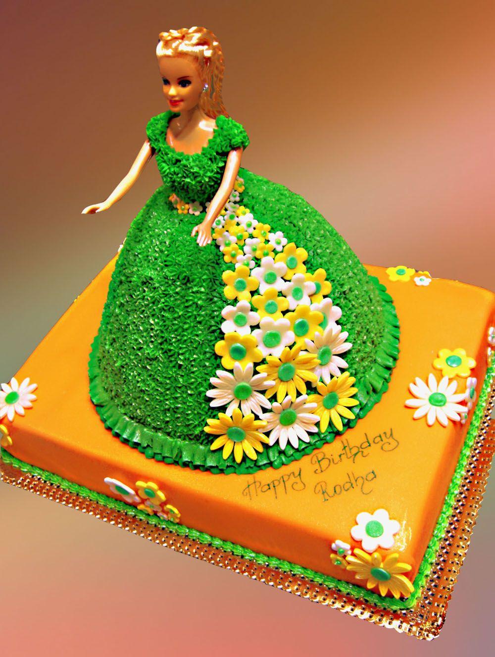 Barbie Princess Cake Barbi Pinterest Birthday Cakes And Cake - Birthday cake doll princess