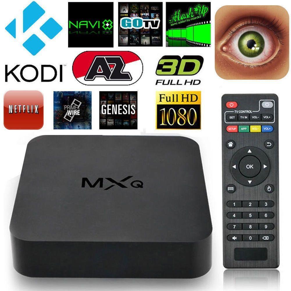 MXQ Quad Core WiFi XBMC Kodi Full HD 1080P Smart set TV