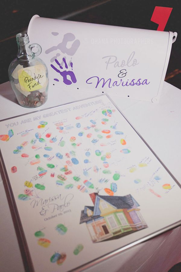 Up-Themed Disney Wedding at Home: Marissa + Paolo | Magical Day Weddings | A Wedding Atlas Fan Site for Disney Weddings