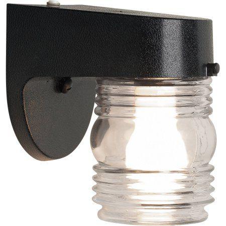 Chapter Outdoor Jelly Jar Lantern Black Jelly Jars Jar