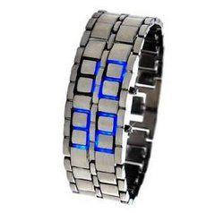 В РОССИИ    790  руб.   Светодиодные часы Iron Samurai