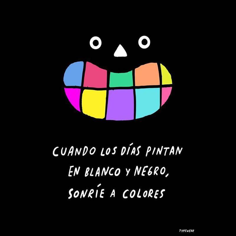 ¡Sonríe a #colores!