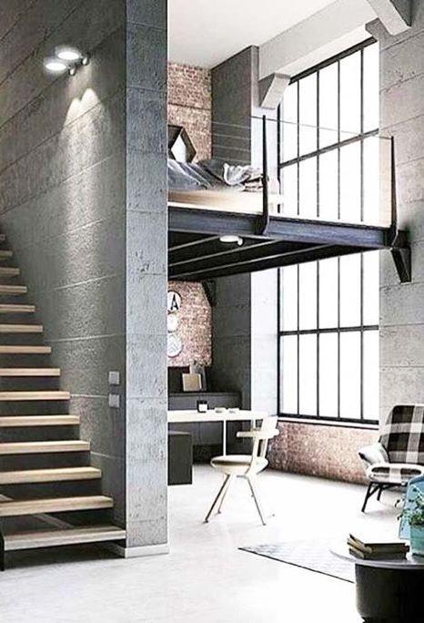 Inspiring Home Design Idea Interior Architecture Design Loft Design Loft Interiors