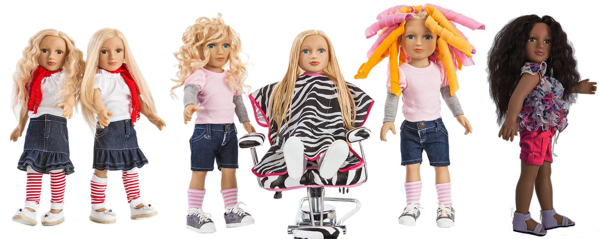 Dolls with Real Hair | My Salon Doll