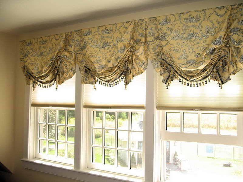 custom window valance ideas: custom window valance ideas with