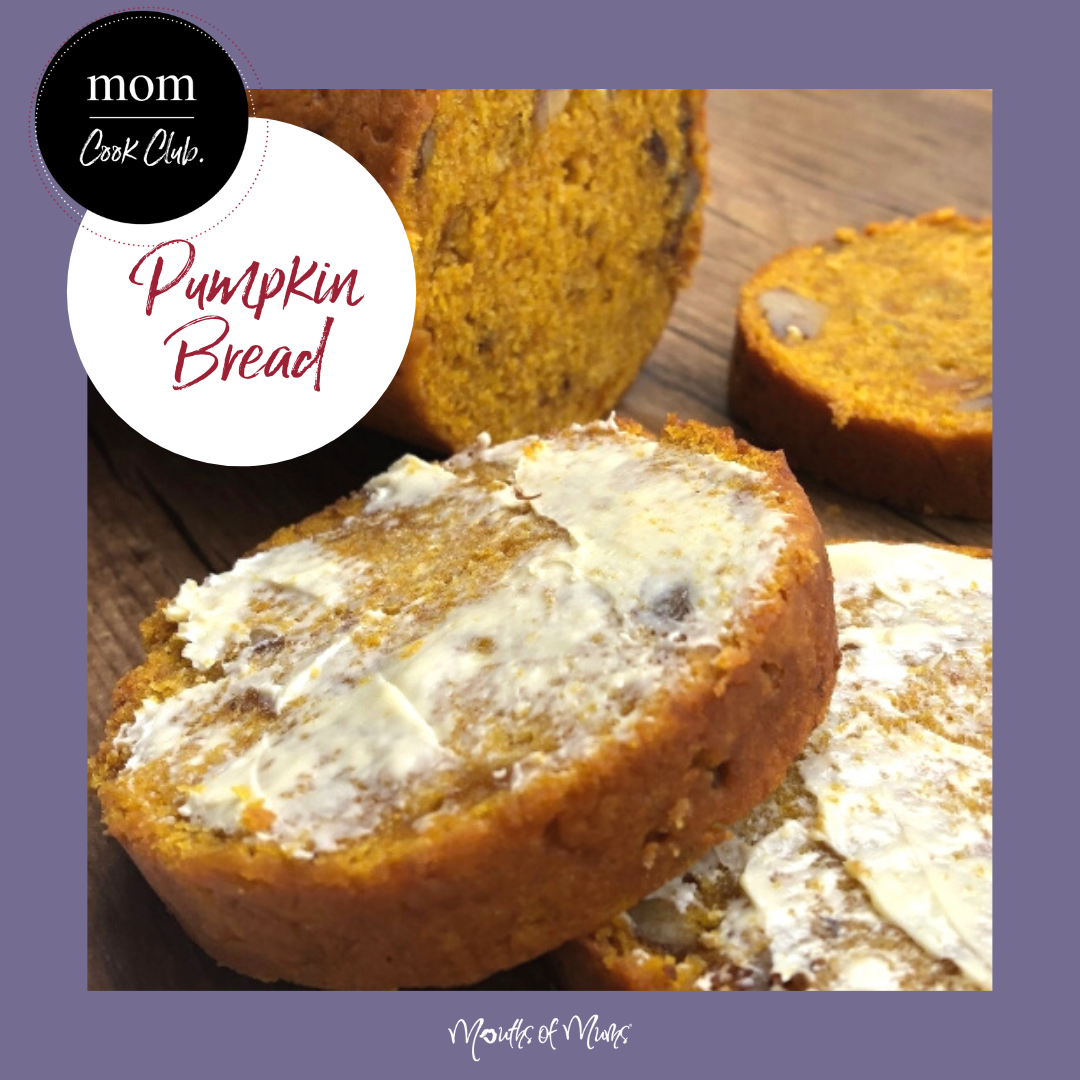 Yes please! We'd love a slice of this Pumpkin Bread shared with us by MoM Member 'LuckyMum'! What's not to LOVE? Recipe on the MoM site >>  . . #momcookclub #mouthsofmums #nomnom #easyrecipe #delish #homemade #closetohome #sogood #pumpkinbread #baking #butter #pumpkin #schoollunchbox #morningtea