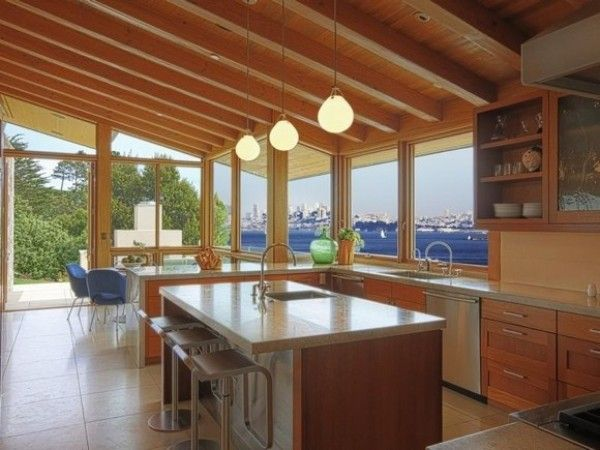 How To Layout An Efficient Kitchen Floor Plan Beach House