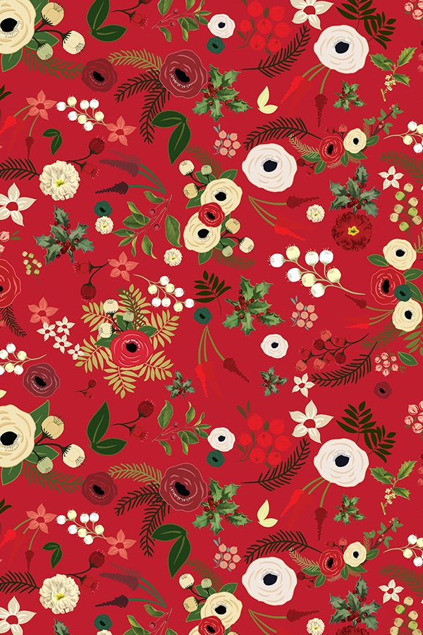 Colorful Fabrics Digitally Printed By Spoonflower Vintage