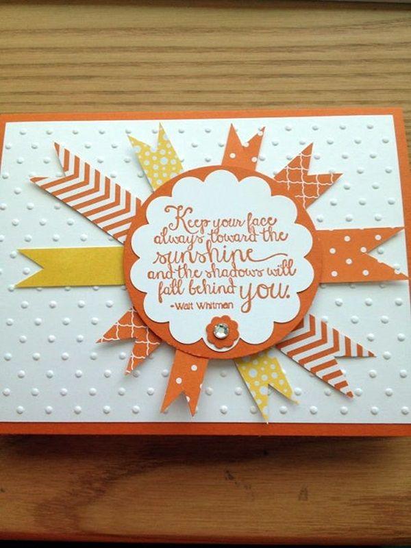 40 Cute Friendship Card Designs Diy Ideas Handmade Birthday Cards Card Making Embossed Cards