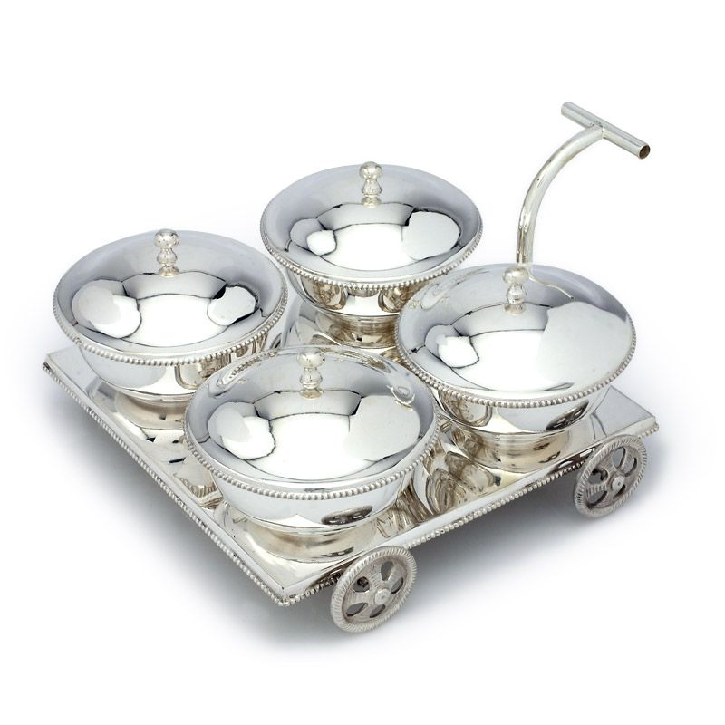 Grt Collections Silver Dinner Sets Silver Bosi