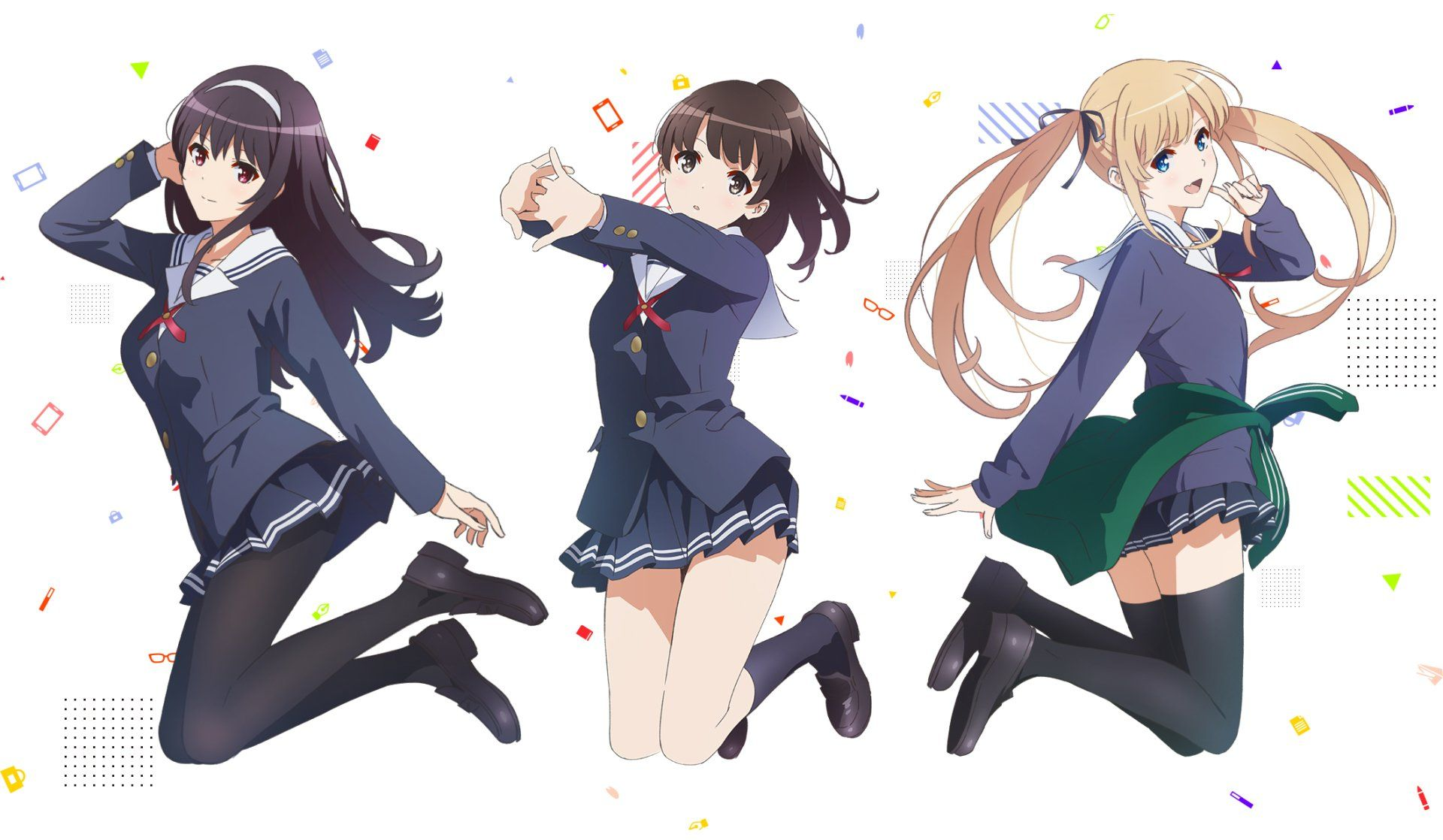 Anime Saekano How To Raise A Boring Girlfriend Megumi Katō Utaha