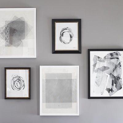 Thom filicia abstract brushstrokes geometric wall artwilliams sonomahome