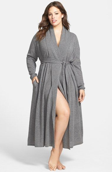 Free shipping and returns on Nordstrom Collection Cashmere Robe (Plus Size) (Online Only) at Nordstrom.com. A long day deserves the indulgence of a cozy robe that wraps you in the decadent softness of pure, fine cashmere.