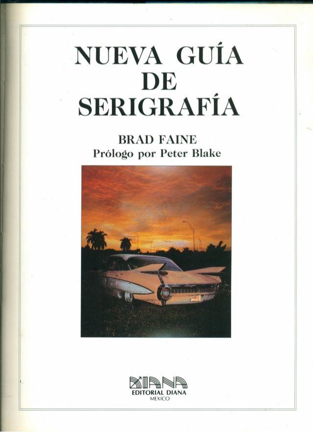Nueva Guia De Serigrafia Descargar Libro Pdf Maria Termini Libros De Dibujo Pdf Serigrafia Libros De Diseno Grafico