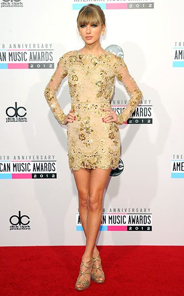 Taylor Swift: AMAs '12 Style: What the Stars Wore | Photo 1 of 33 | EW.com