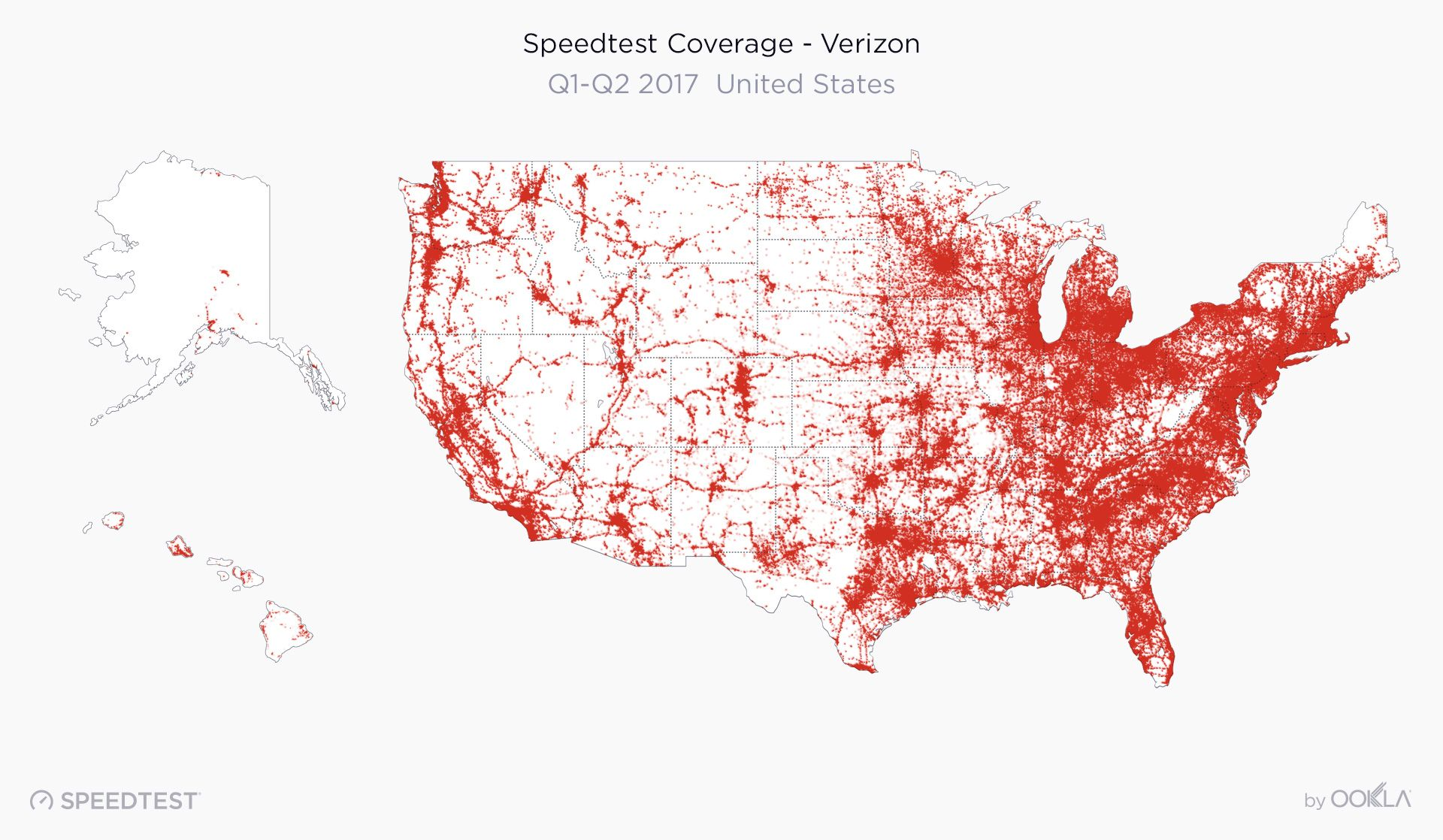 2019 Speedtest U.S. Mobile Performance Report by Ookla