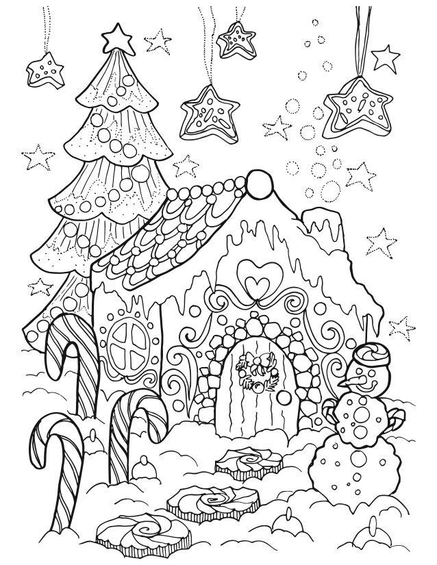 Christmas Color Page 2 By Artist Ekaterina Chernova  Amazon