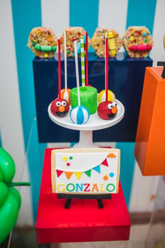 Elmo 1st Birthday Party I CatchMyParty