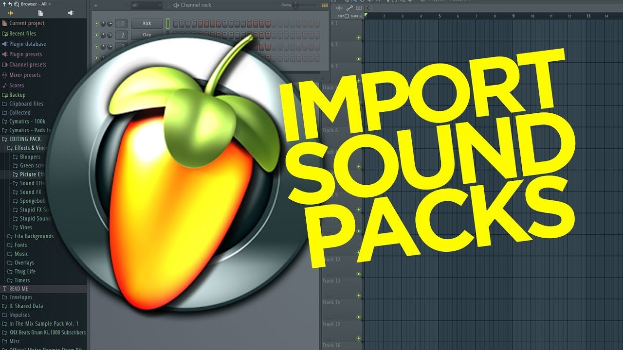 How to Install and use Sample Packs in Fl Studio 12 (FREE Sample