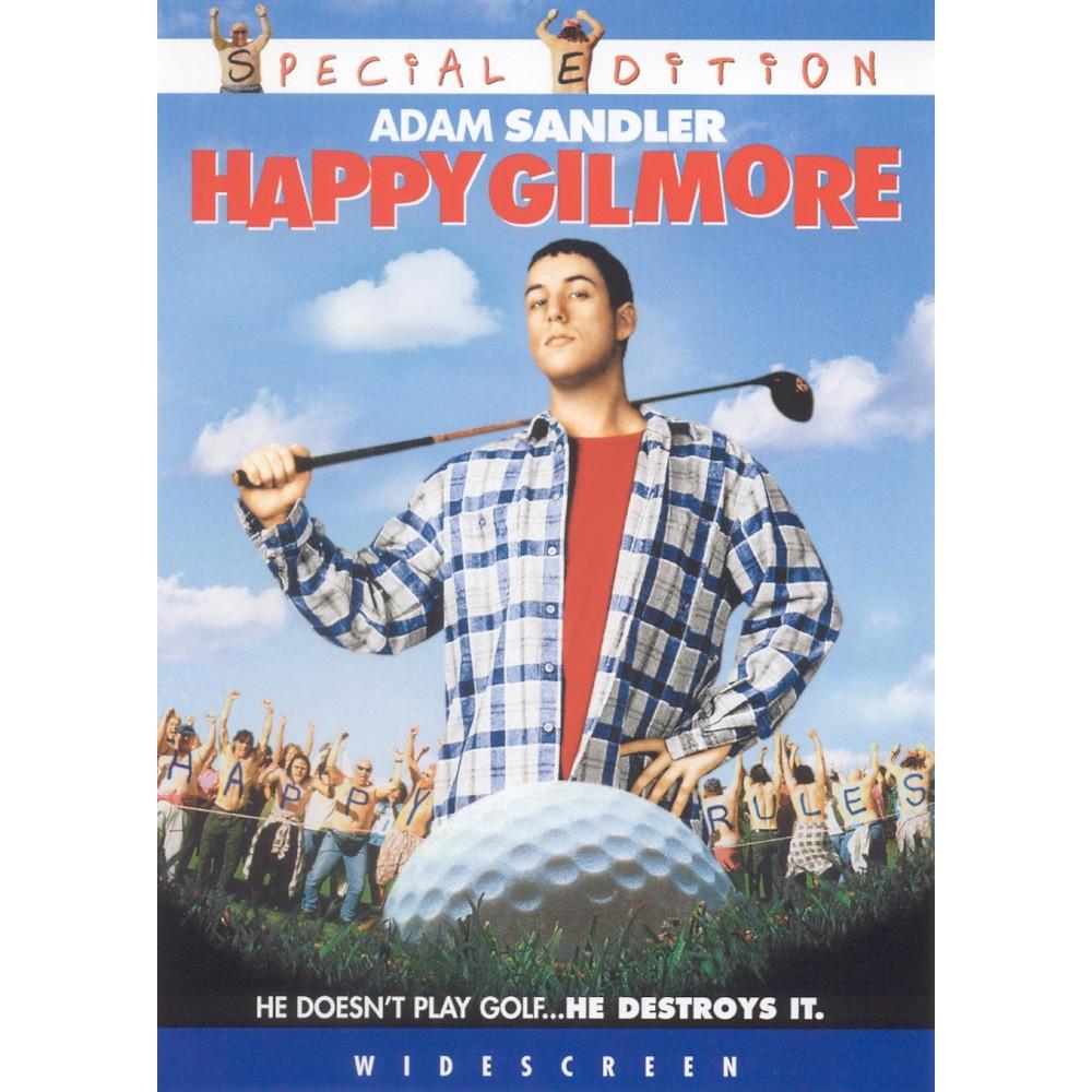 Happy Gilmore Ws Special Edition Dvd Video Funny Movies