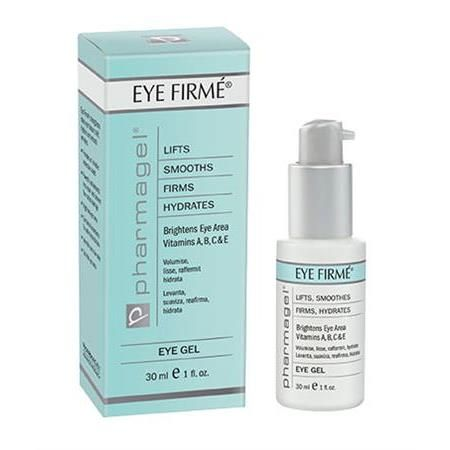 Eye Firme Gel By Pharmagel - 1 Ounce 5 Pk AVEENO Active Naturals Positively Radiant Daily Moisturizer SPF 30 2.5oz Ea