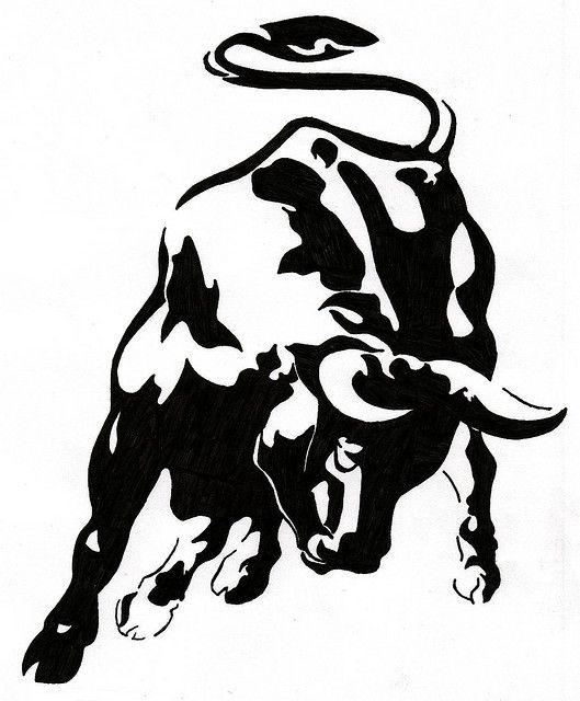 Ox Tat By Villlt Via Flickr Funny Random Bull Tattoos Taurus