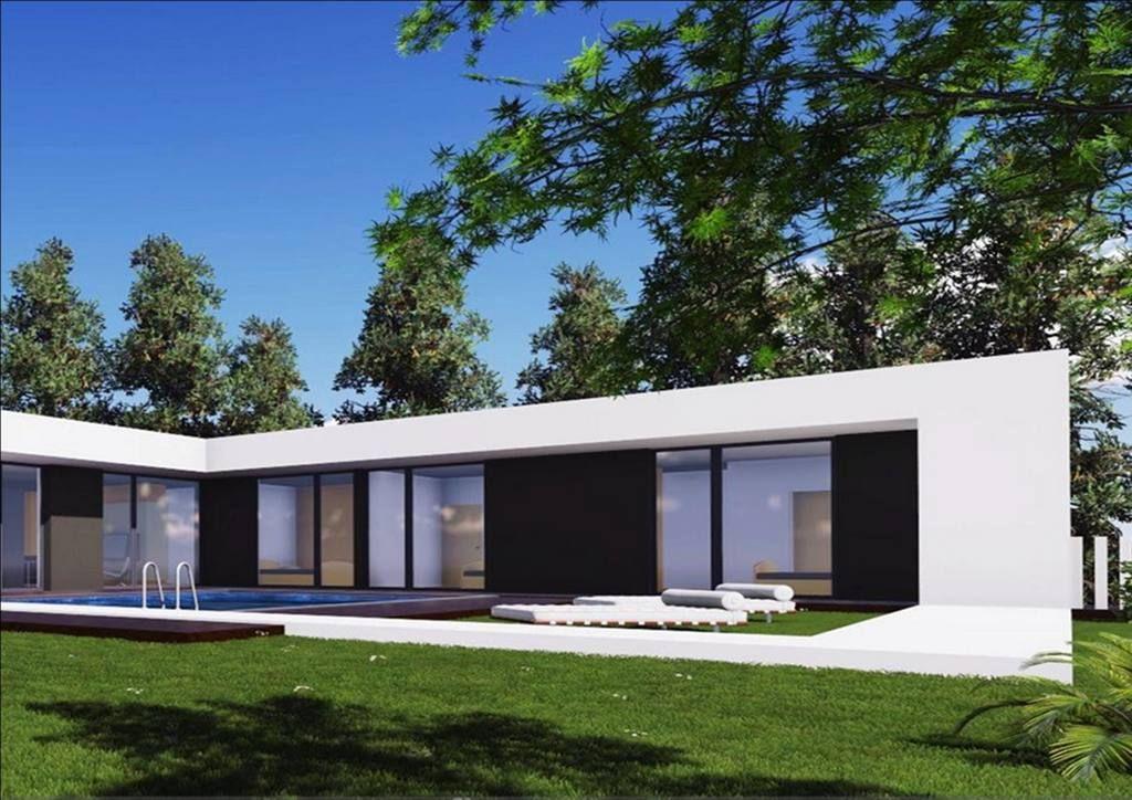 Une villa IGC aux lignes épurées Construction Pinterest