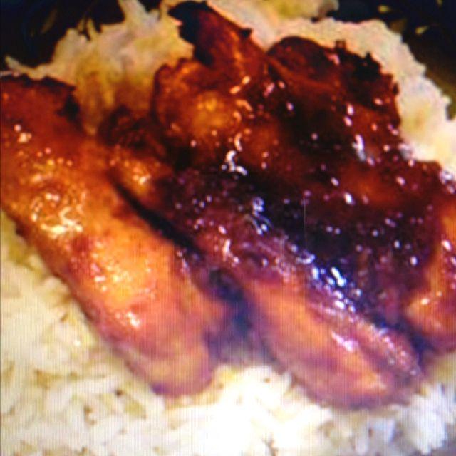 Asian Glazed Chicken Thighs Recipe: Asian Glazed Chicken Thighs