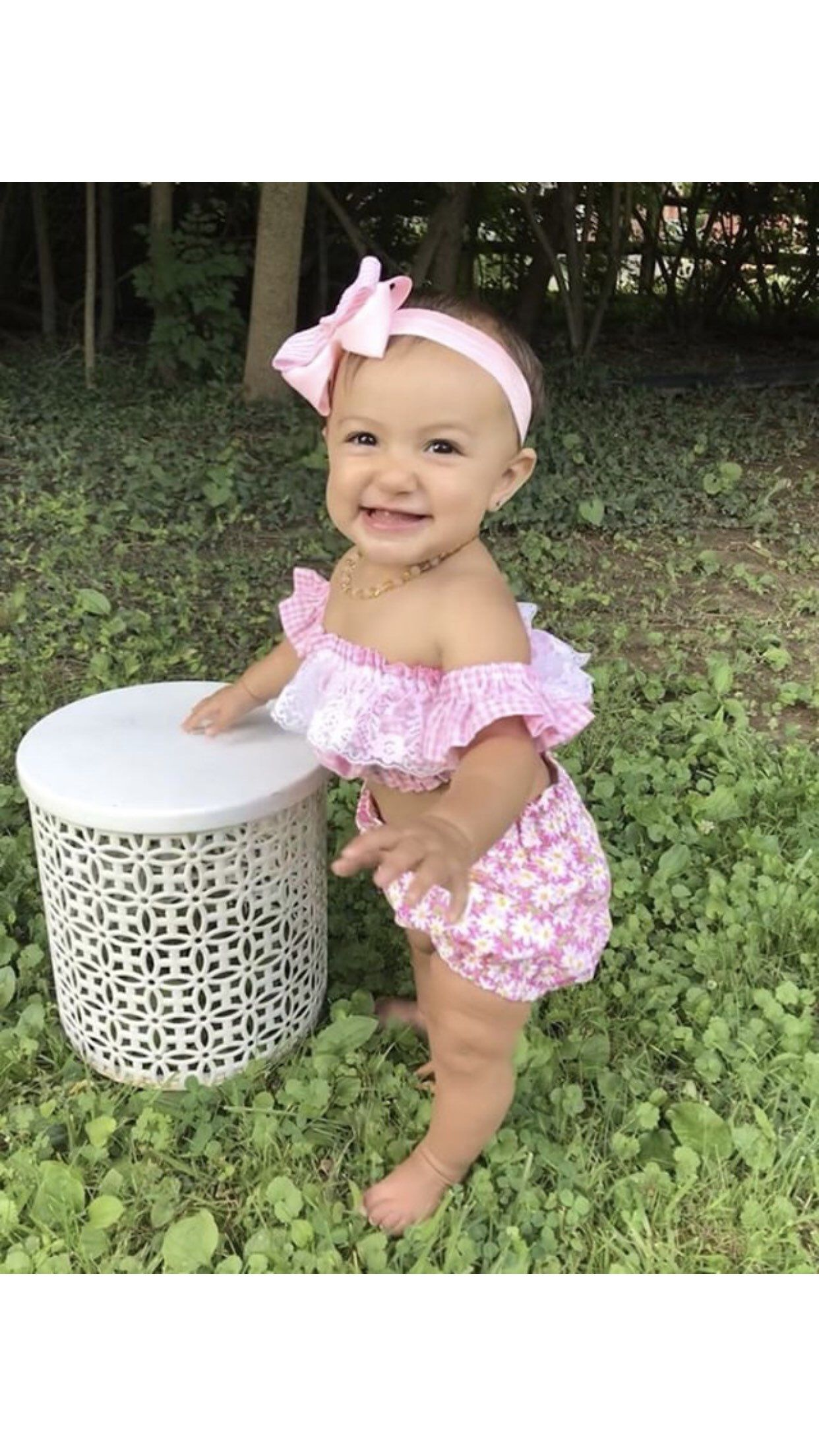 228d73b81 Excited to share the latest addition to my #etsy shop: Daisy Shorts Outfit,  Daisy Top, Baby Girl Shorts, Shorts for Girls, Toddler Shorts, Little Girl  ...