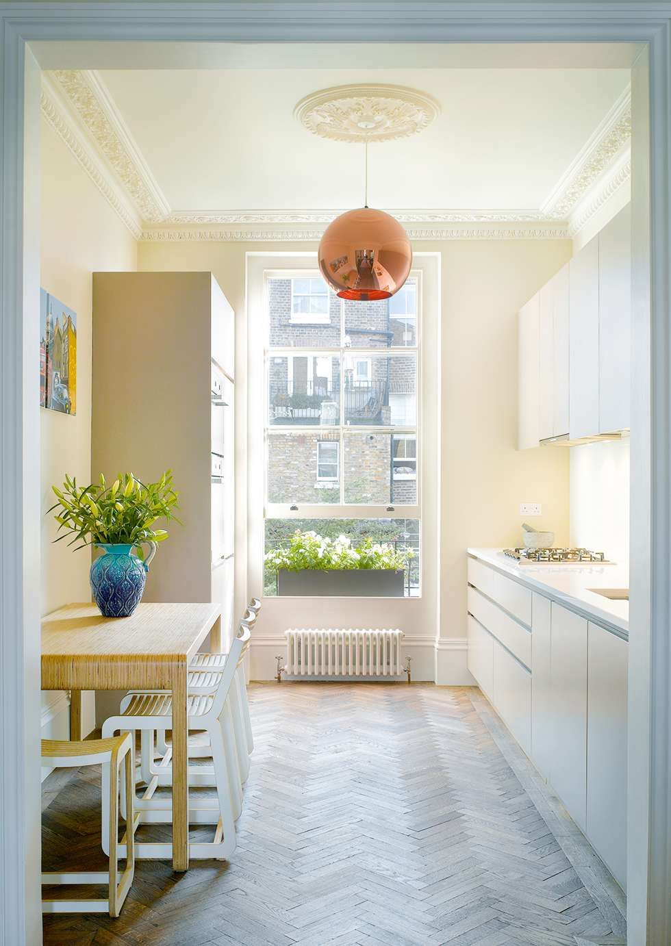 Design advice for maximising openplan galley and square kitchens