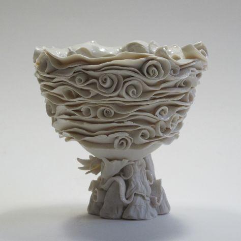 Coil Pots Teresa Brooks Pottery Ceramic Pinterest