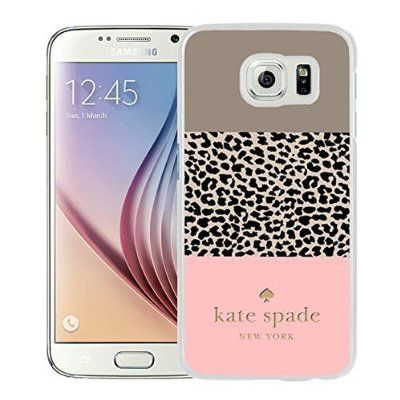 Fashionable Custom Designed Kate Spade Cover Case For Samsung Galaxy S6  White Phone Case 109