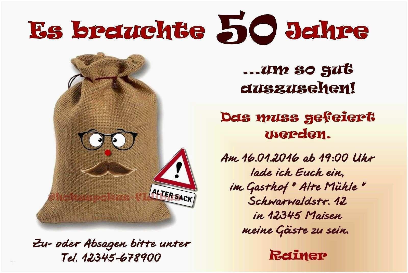 Einladung 50 Geburtstag Originell Einladung 50 Geburtstag