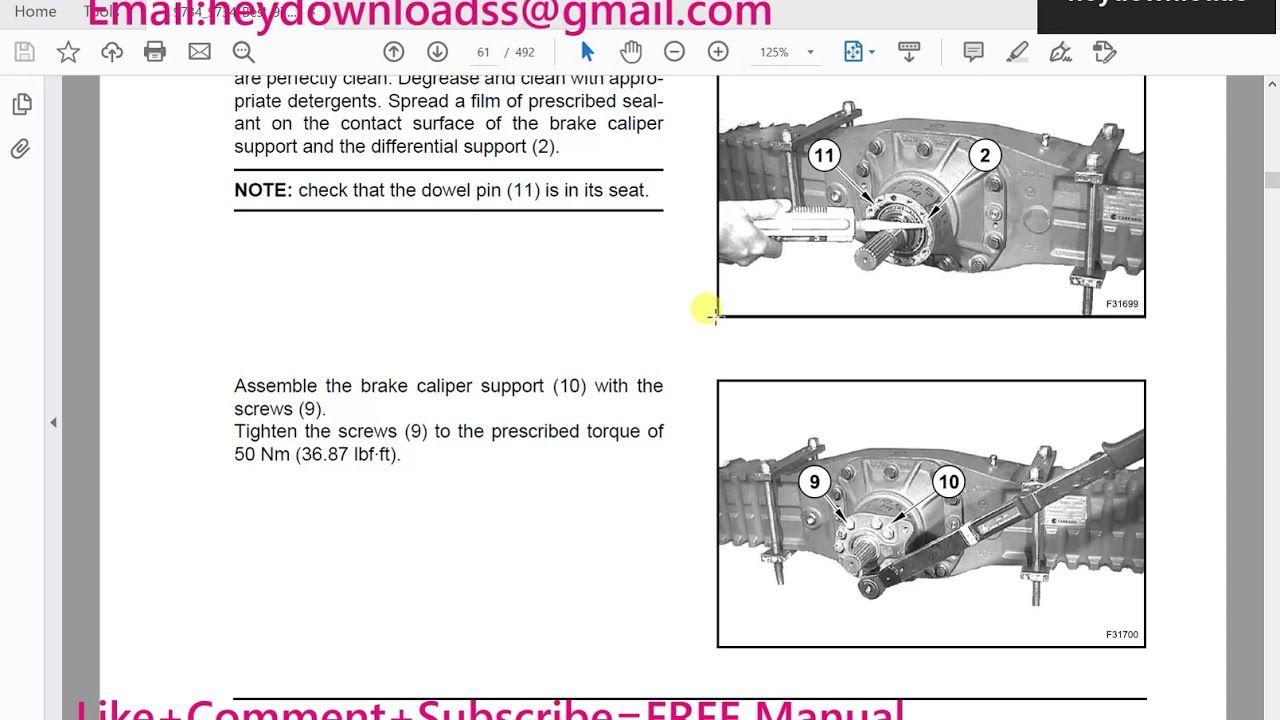 New Holland W50btc W60btc W70btc W80btc Compact Wheel Loaders Service Re Repair Manuals New Holland Brake Calipers