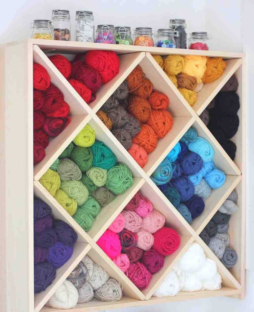 Yarn Storage Cabinets