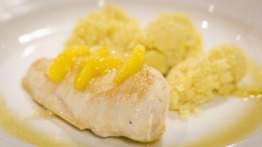 Kuracie prsia s citrusovým kuskusom | Klub gurmánov | Varený-pečený