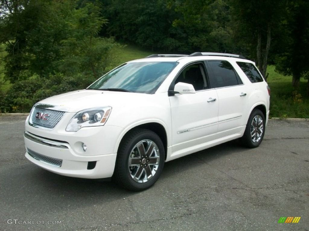 White Gmc Acadia 2012 Summit White Gmc Acadia Denali Awd