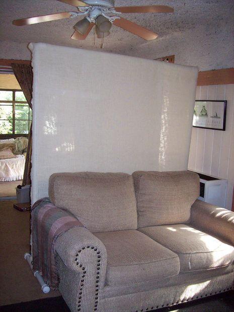 PVC Room Divider (Cheap and Easy!) | bedroom | Pinterest | Divider ...