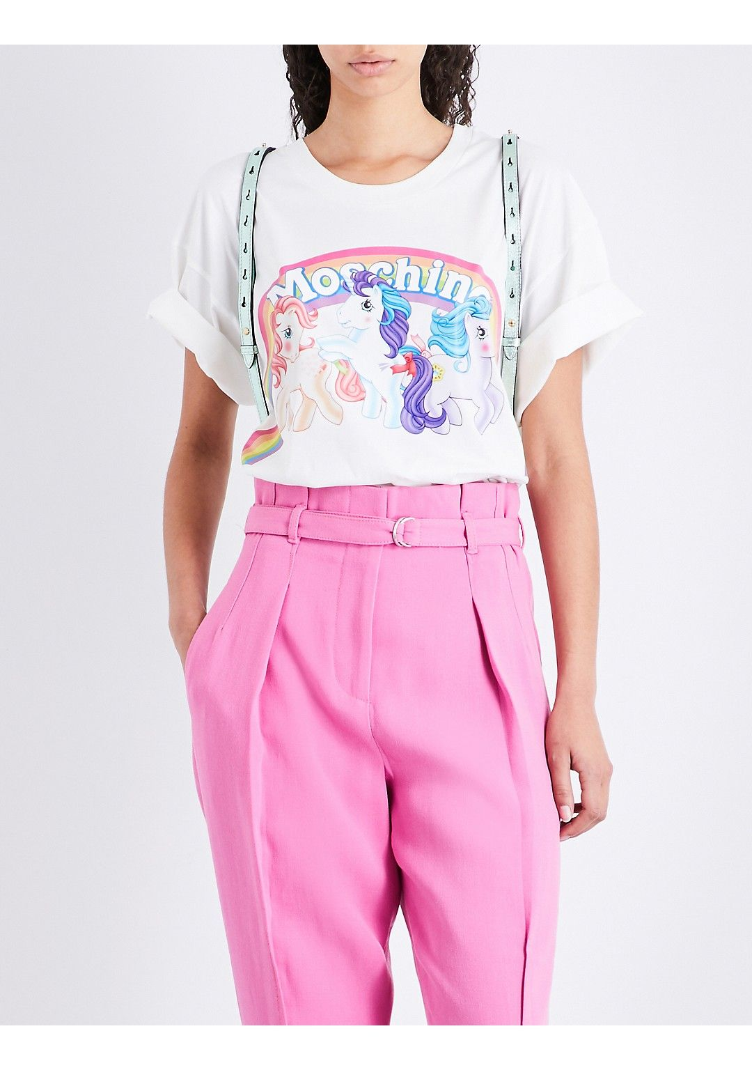 9fac29ec272b MOSCHINO - My Little Pony cotton-jersey T-shirt