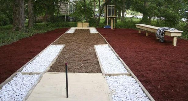 How to Build a Horseshoe Pit | Horseshoe pit, Outdoor ...