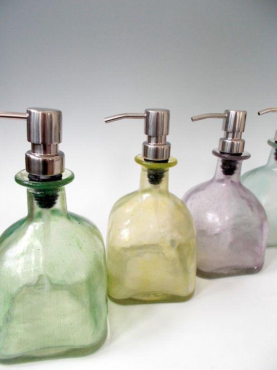 10 Etsy Finds Repurposing Living Vintage Diy Soap Dispenser Bottle Kitchen Soap Dispenser Etsy Finds