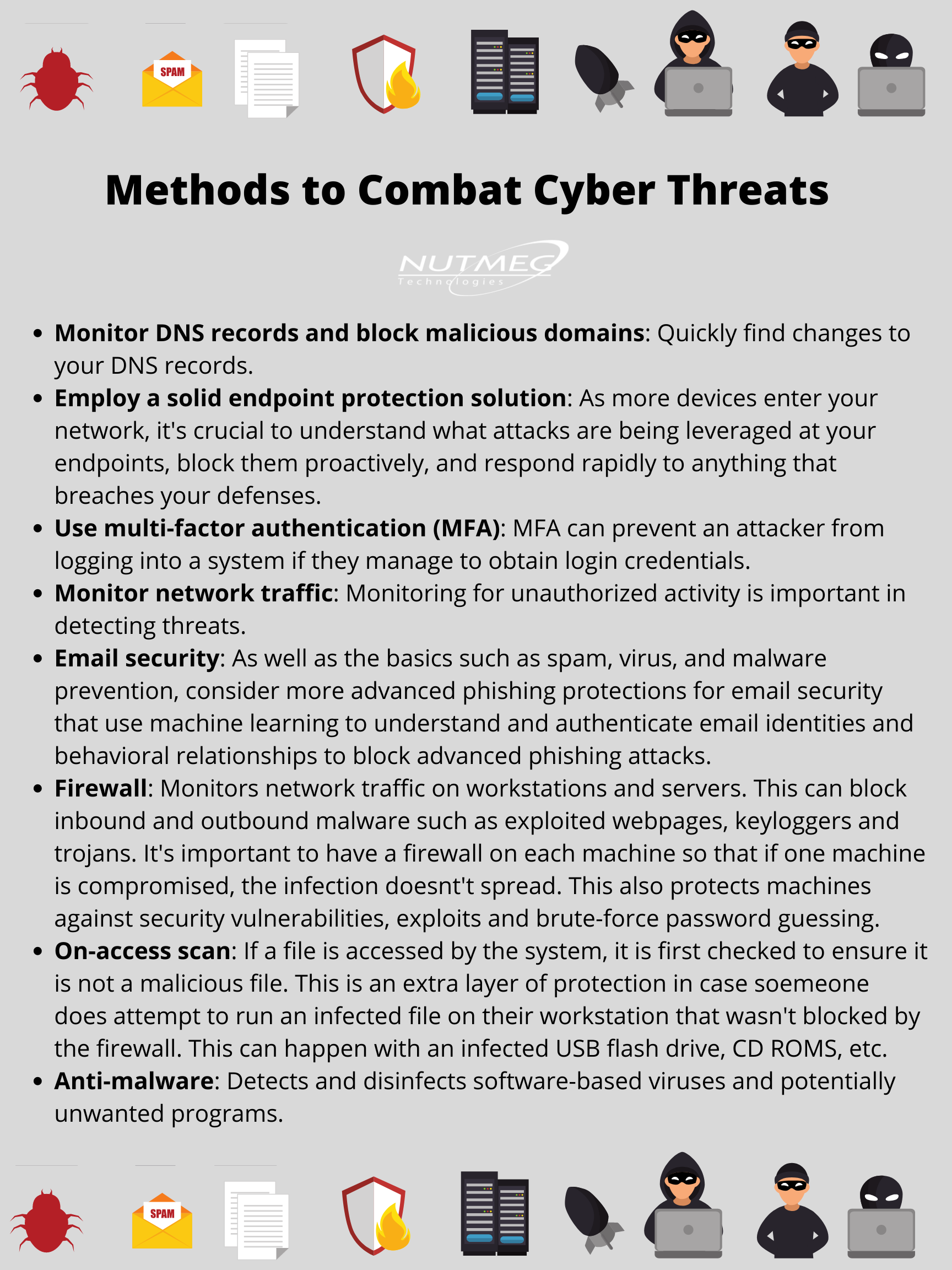 Methods To Combat Cyber Threats Cyber Threat Security Tips Cyber