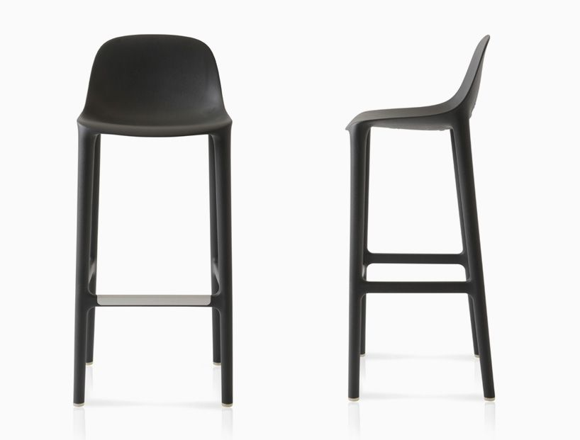 Philippe Starck Extends Broom Collection For Emeco With Stools Stool Living Room Decor Modern Emeco