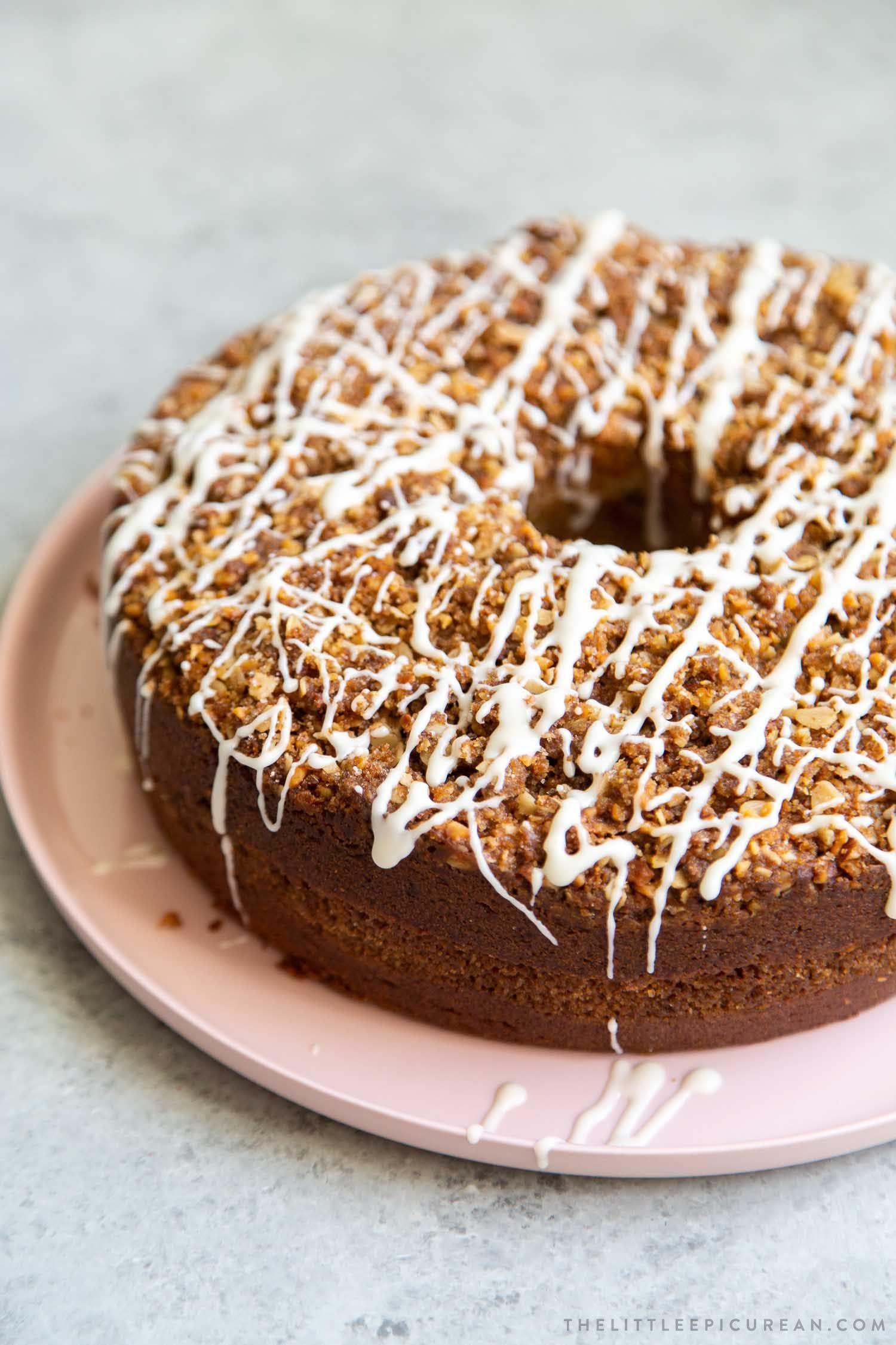 Banana crumb cake recipe in 2020 with images banana